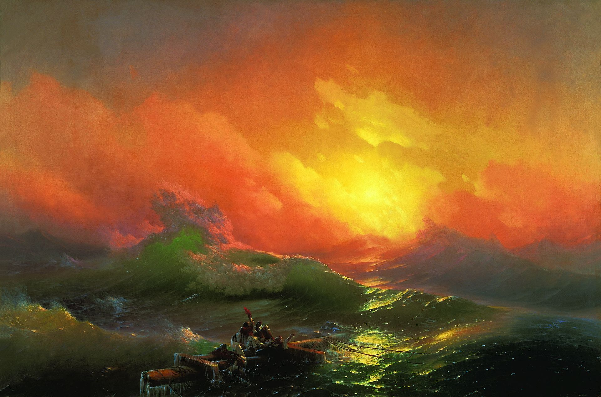 Aivazovsky Ivan The Ninth Wave