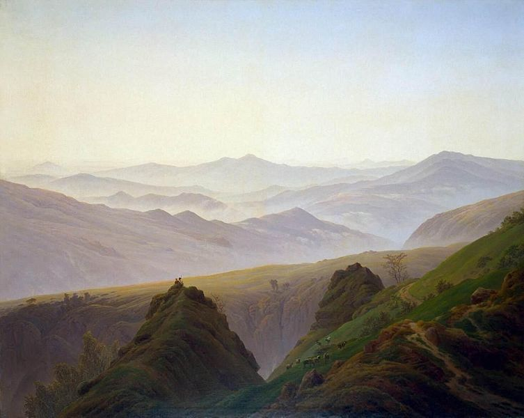 Friedrich Morning in the Mountains