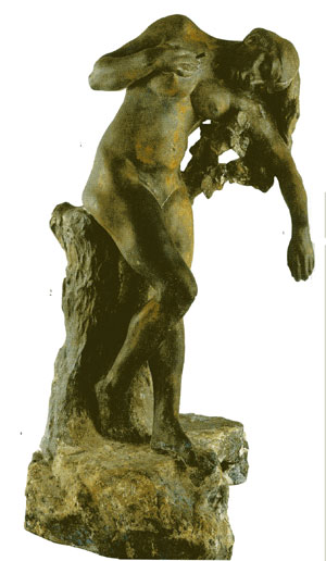 Camille claudel : niobide  blessee