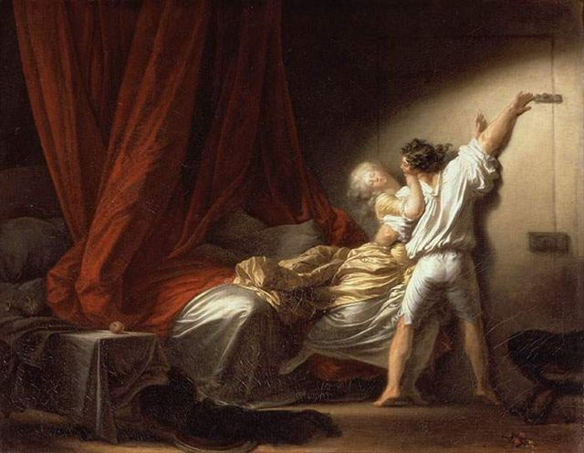 Fragonard Le Verrou 1778 Copie