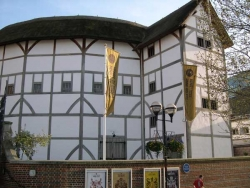 William  Shakespeare , le théâtre  du  Globe