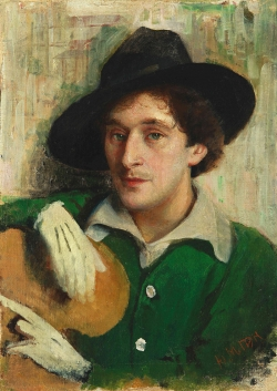 Marc  Chagall par  Youri Pen
